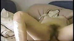 Found old VHS fucking ex-wife 1993! Hairy pussy