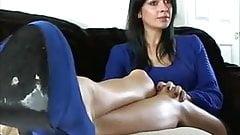 Goddess's amazing soles, jerk off