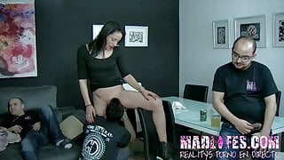 Daisy and La Vane gets fucked by every of the dudes