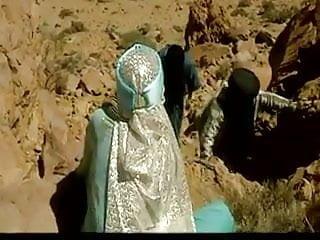 Desert rose sex Three arabs fucks hot arabian slut in desert .