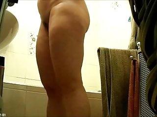 Spy video clips nude Big ass woman in bathroom-spy cam clip