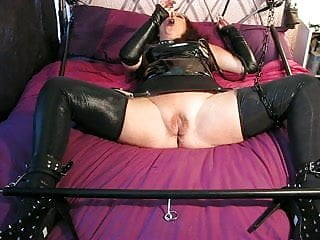 Ecstacy up a women pussy - Spreader bar slut ecstacy