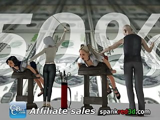 Extreme domination affiliate - All new spankred3d affiliate partnership program