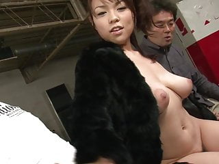 Stupid cunt sucking cock - Little whore is on her knees sucking cock and fingering her cunt