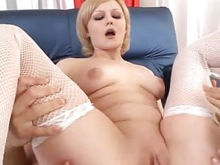 Anal creampie drip out of samantha Blonde licks asshole while cum is dripping out