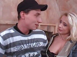Action anal milf Hot blonde milf in anal action