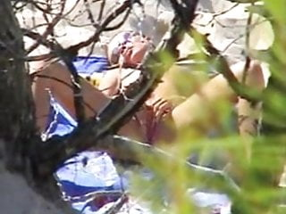 Nude teen on the beach 2