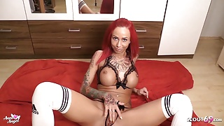 German Redhead Teen Anni Angel Dirty Talk Joi for You to Cum