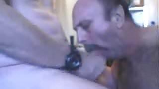 A man sucking a nice cock