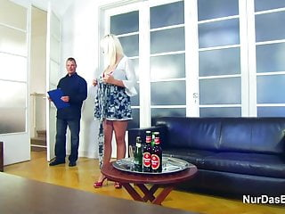 Of dad and daughter fucking - Daughter get fuck by not step-dad and boyfriend in threesome