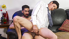 FamilyDick - Stepdad Punishes His Boy By Plowing His Asshole