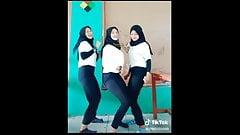 boobies Turbali liseli citir kizlar dans hijab cum
