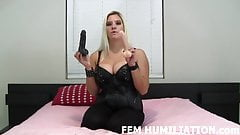Both of these cocks are going up your ass