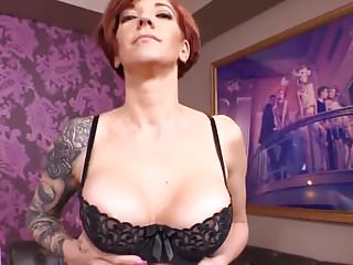 Pregnancy in adult movie business - Sexy 39 year old redhead milf first adult movie