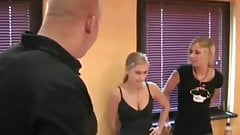 STP7 Older Guy Gets Lucky With Two Sexy Sisters !