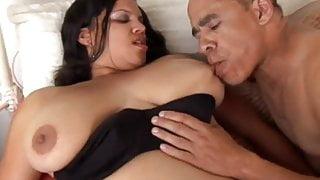 Beautiful black BBW has nice big tits and sexy round ass