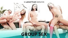 ADULT TIME Group Sex, Swingers & Orgies Compilation