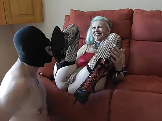 Dogs lick my pussy Sadobitch - vera-dog lick my boots