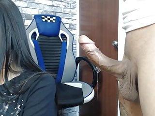 Wet nasty sex - Hard cock wet nasty suck fest from gf on knees