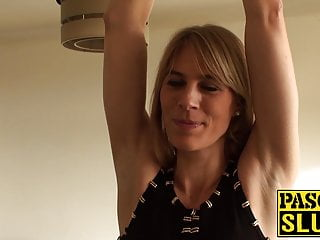 Movie fuck handcuffed - Handcuffed sub beauty roughly fucked by big dick maledom