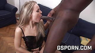 Sexy milf in hot lingerie fucked by bbc in her ass