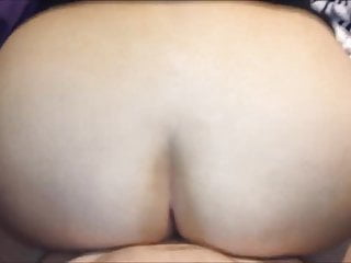 Blast your ass Blasting hot jizz on her bbw ass chicks - pov