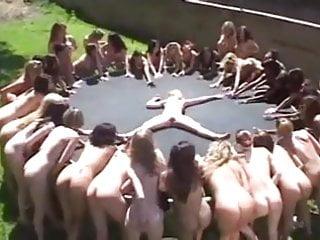 Teens lesbian squirt - Insane lesbian squirt party