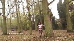 Slut from Derbyshire outside