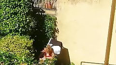 I masturbate looking at my neighbor