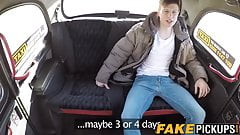 British cougar cabbie is hungry for this huge younger cock