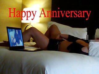 Vibrator ring video - Anniversary hotwife surprise bbc wedding ring cuck