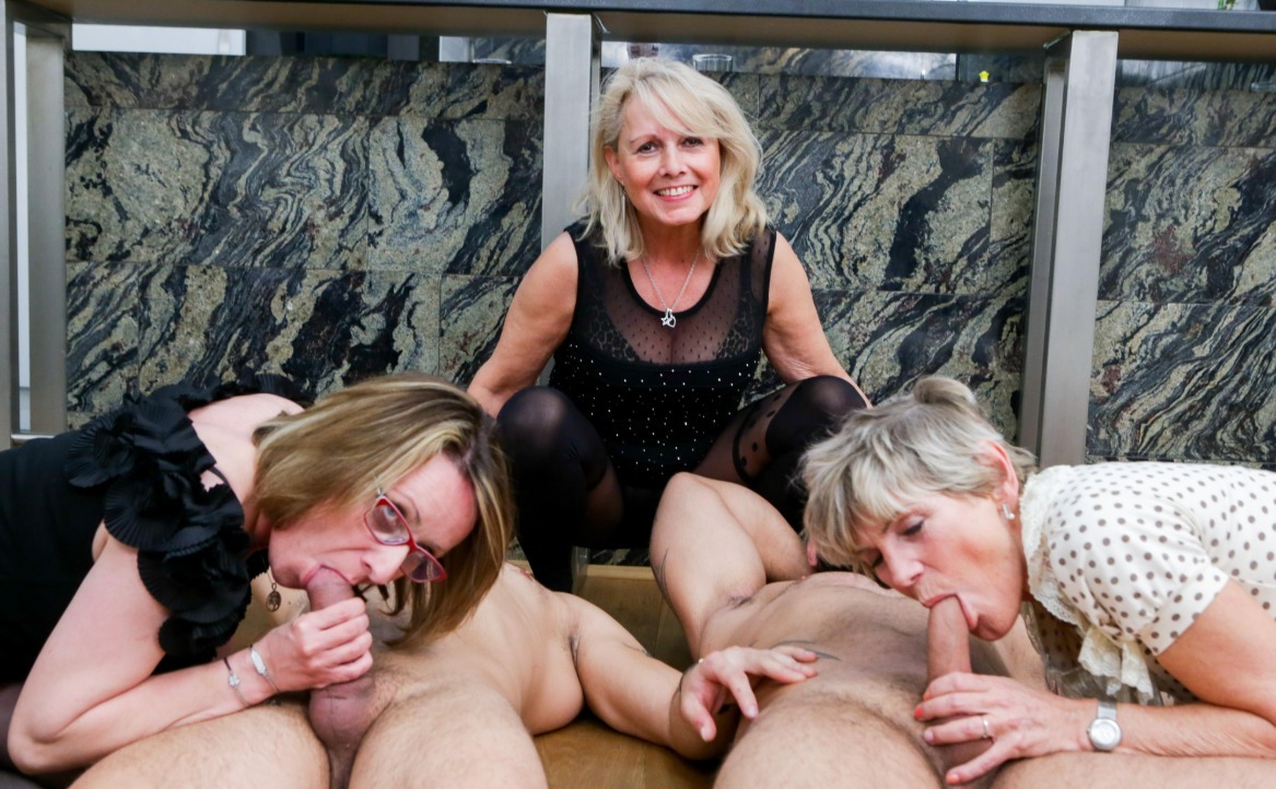 Porn Granny Orgy first ever granny orgy! cock fest!