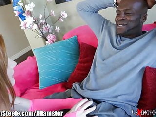 Lexington steele facial compilation Tiny redhead takes 11 inches of black meat