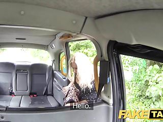 Sexy high heels Fake taxi big tits blonde in sexy high heels