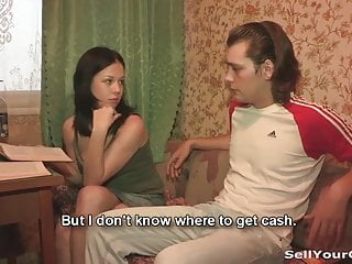 Pleasuring blowjob Sex for cash is a new pleasure