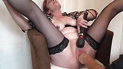 Pierced mature getting vaginal fisting 2