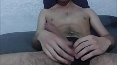 Very Horny Teen Shows Its Huge Monster Cock