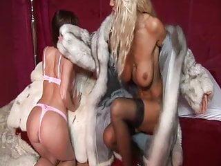 Lesbians bumping fur Furs lesbians