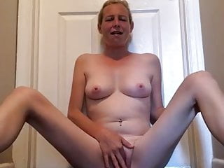 Waxing my bikini - Playing with my freshly waxed pussy