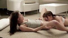 Lauren Crist & Little Caprice - Lesbian Sex