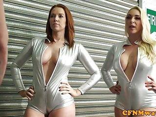 Pure cfnm handjob free video Cfnm babe candi blows sucking in heels