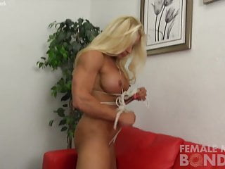 Bdsm free pics Jill gets free from her ropes
