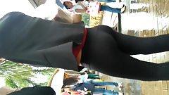 Nice teen ass she likes to show