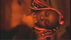 African fisting, cute ebony babe pussy fist