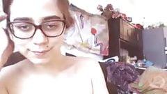 Hairy Girl On Webcam