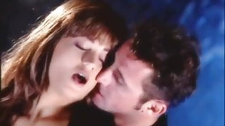 Loureen Kiss hard fucking in sexy black stockings and boots