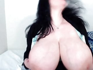 Curvy ass tits video Horny brunette milf jen with curvy ass and immense tits