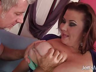 And fat pussy An older guy fucks bbw lady lynn in her mouth and fat pussy