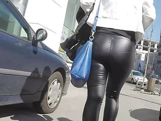 Leather pants fuck Great ass skin tight leather pants