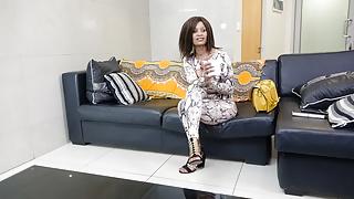 Married African Babe's First Ass Fuck on Casting Couch